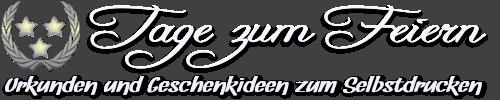Tage zum Feiern - Logo