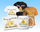 Eigene Motive auf T-Shirts, Tassen, oder Taschen